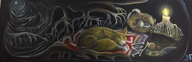"""Foxhole"" by Neeka Allsup"