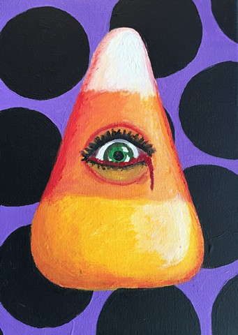 'Candy Corn' By Hariet Mishoulm