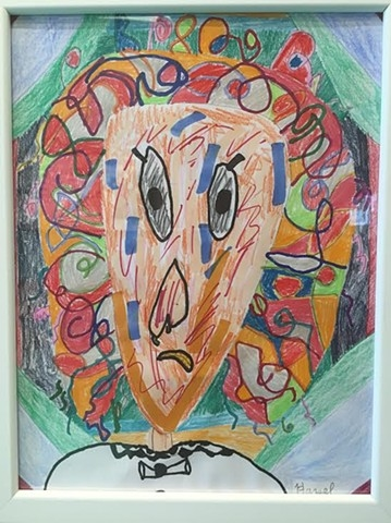 """Anger Clown"" by Hazel Jackson"