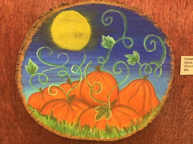 """Pumpkins"" by Sylvia Allsup-Edwards"""