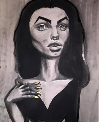"""""""Vampira"""" by Roeya Pazandah"""