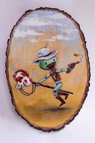 """""""Cowboy"""" by Jay Bramhall"""