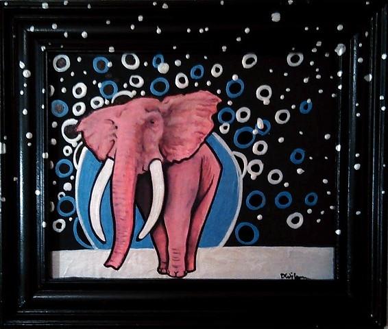 """""""Pink Elephant"""" by Dan Wilson"""