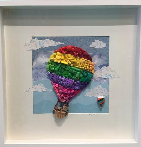 """""""Hot Air Balloon"""" by Hilary Christensen"""