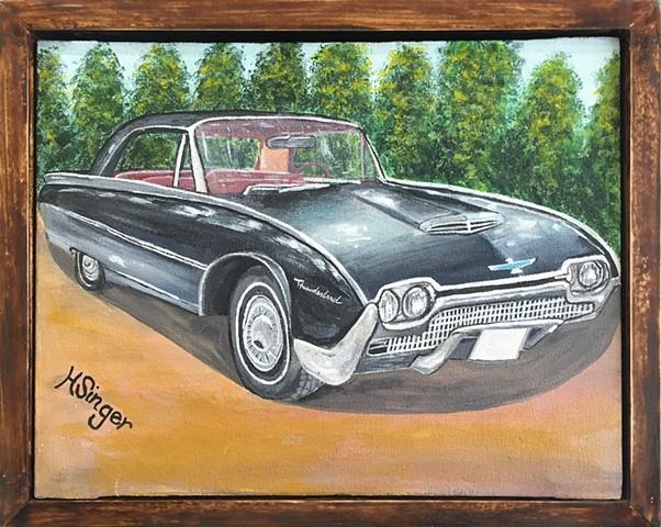 """""""1958 Thunderbird"""" by Holly Glenn"""