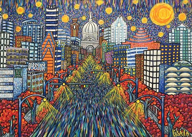 """Blue Dream"" by Lisa La"