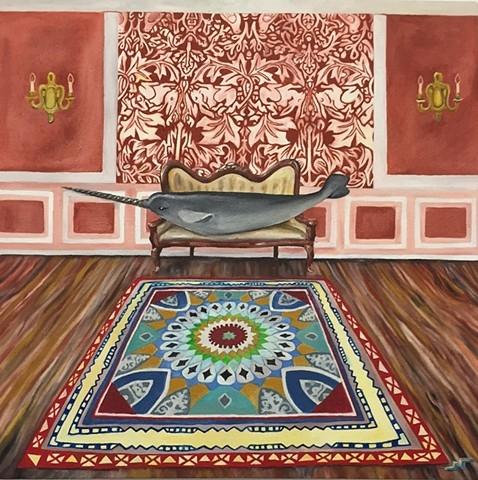 'Narwhal Lounge' by Neeka Allsup