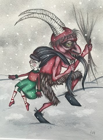 'Krampus' by Liz Hermanson