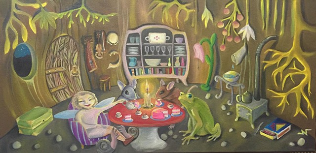 """Happy Birthday Miss Frog"" by Neeka Allsup"