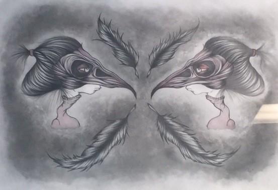 'Twins' by Liz Hermanson