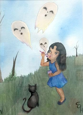 'Ghost Bubbles' by Shefali O'Hara