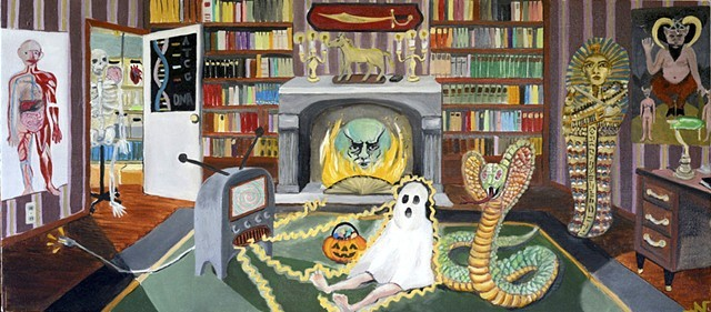 'Halloween in the office' Neeka Allsup
