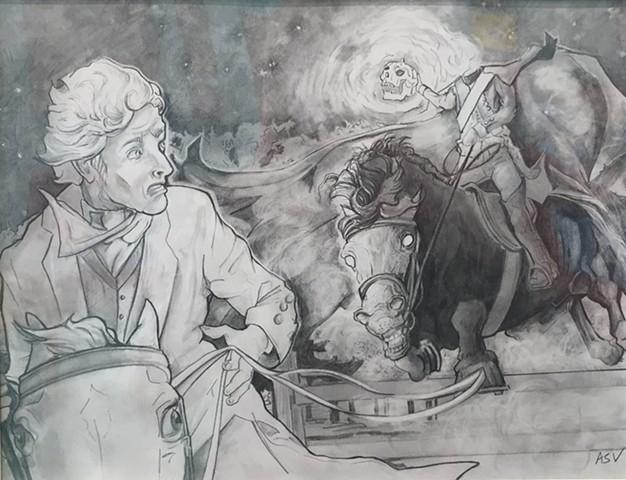 'Sleepy Hollows' by Alicia Vogel
