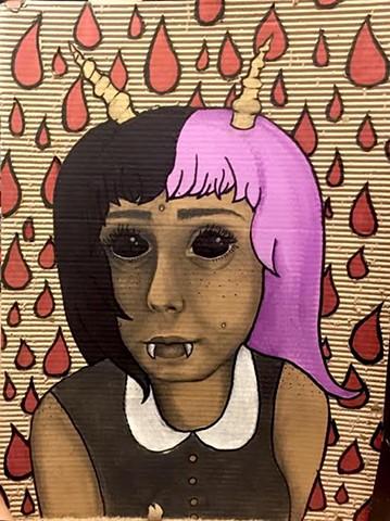 """Blood Rain"" by Roeya Pazandah"