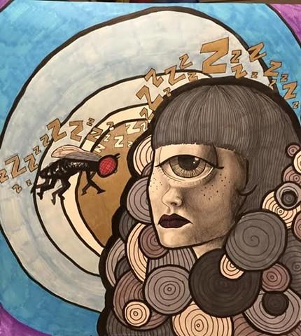 """""""Cyclopse"""" by Roeya Pazandah"""