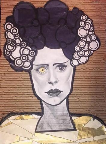 """""""Bride"""" by Roeya Pazandah"""
