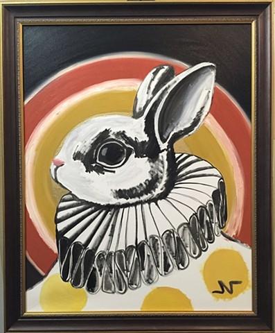 """Circus Bunny"" by Neeka Allsup"