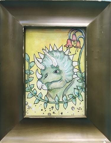 """Triceratops"" by Jamie McDermond"