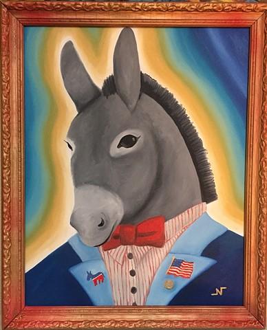 """Dr. Donkey"" by Neeka Allsup"