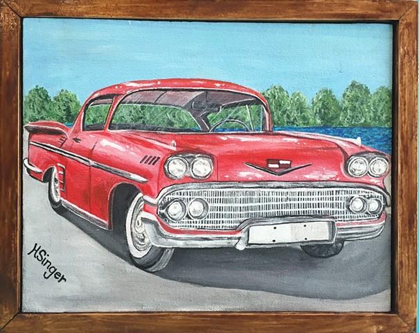 """1958 Impala"" by Holly Glenn"