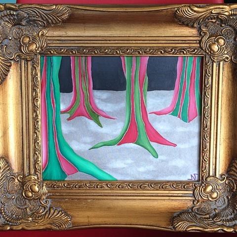 'Christmas Trees' by Neeka Allsup
