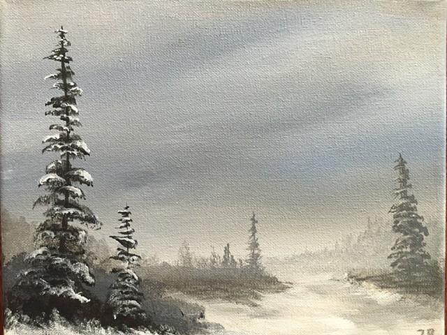 'Winter Landscape' by Zachary Souza